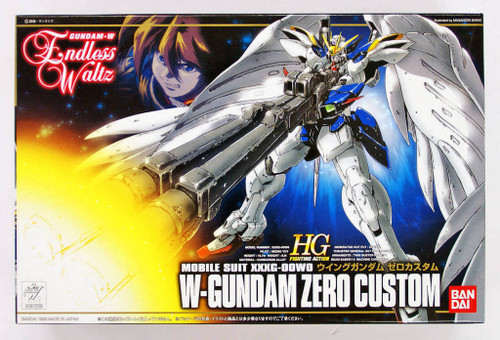 Bandai 612096 Gundam W Endless Waltz W-Gundam Zero Custom 1/144 Scale Kit
