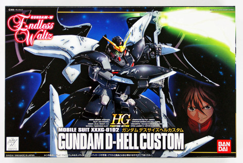 Bandai 612133 Gundam W Endless Waltz Gundam D-Hell Custom 1/144 Scale Kit