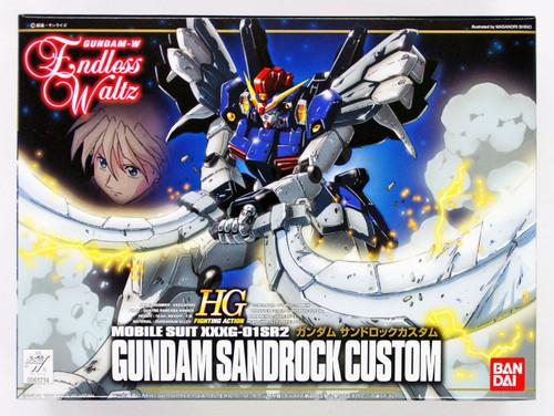 Bandai 612140 Gundam W Endless Waltz Gundam Sandrock Custom 1/144 Scale Kit