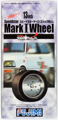 Fujimi TW05 Speedstar Mark I Wheel & Tire Set 13 inch 1/24 Scale Kit