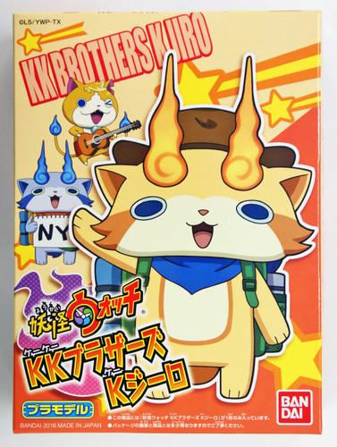 Bandai Yo-Kai Watch 18 KK Brothers K Jiro Plastic Model Kit