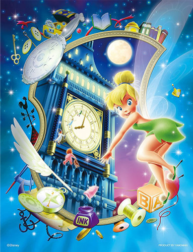 Yanoman Jigsaw Puzzle 42-32 Disney Peter Pan Tinker Bell (300 Small Pieces)