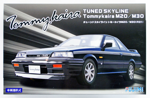 Fujimi ID-16 Tuned Skyline Tommy Kaira M20/M30(R31) 1/24 Scale Convertible kit