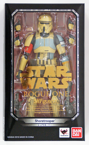 "Bandai 094579 S.H. Figuarts STAR WARS Series Rogue One ""Shoretrooper"" Figure"