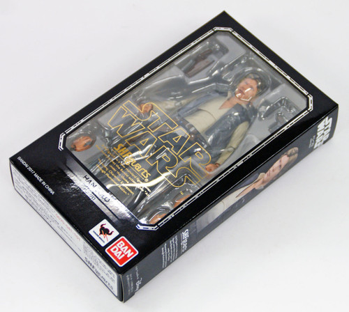 "Bandai 077862 S.H. Figuarts STAR WARS Series A New Hope ""Han Solo"" Figure"