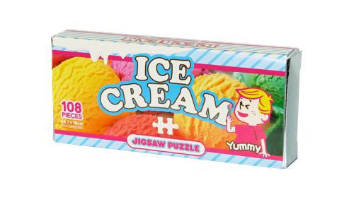 Beverly Jigsaw Puzzle M108-203 Candy Collection Ice Cream (108 S-Pieces)