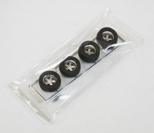 Fujimi TW48 Super Street Wheel & Tire Set 14 inch 1/24 Scale Kit