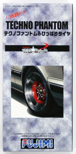 Fujimi TW51 Techno Phantom Wheel & Tire Set 1/24 Scale Kit
