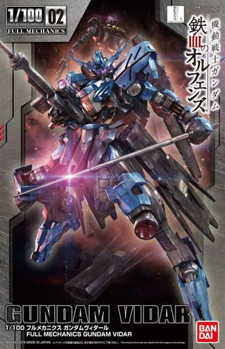 Bandai Iron-Blooded Orphans 121954 Full Mechanics Gundam Vidar 1/100 Scale Kit