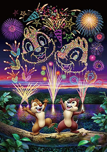 Tenyo Japan Pure White Jigsaw Puzzle DPG-266-573 Disney Chip 'n Dale (266 Pieces)