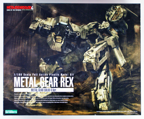Kotobukiya KP409 Metal Gear Rex Metal Gear Solid 4 Version 1/100 Scale Kit