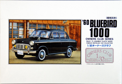 Arii Owners Club 1/32 27 1960 BLUEBIRD 1000 1/32 Scale Kit (Microace)