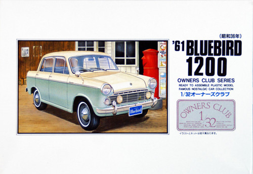 Arii Owners Club 1/32 31 1961 BLUEBIRD 1200 1/32 Scale Kit (Microace)