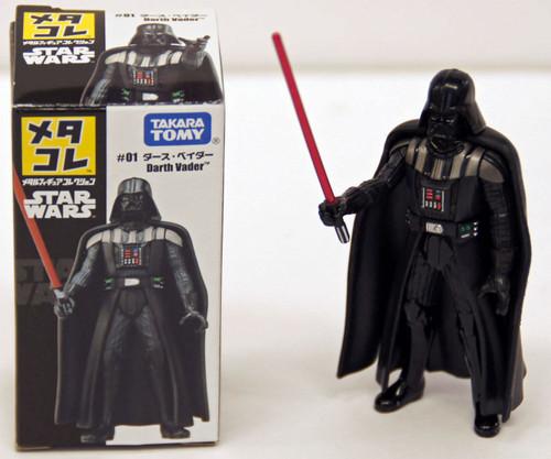 Takara Tomy Disney Star Wars Metakore Metal Figure #01 Darth Vader 821397
