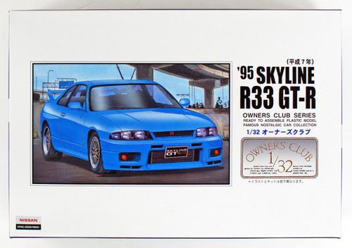 Arii Owners Club 1/32 38 1995 SKYLINE R33 GT-R 1/32 scale kit (Microace)