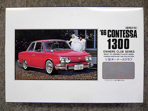 Arii Owners Club 1/32 40 1966 Honi Contessa 1300 1/32 Scale Kit (Microace)