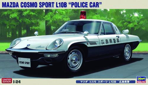 Hasegawa 20258 Mazda Cosmo Sport L108 Police Car 1/24 Scale Kit