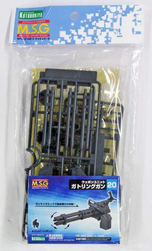 Kotobukiya MSG Modeling Support Goods MW20R Weapon Unit 20 Gatling Gun