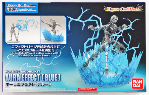 Bandai Figure-Rise Effect 129714 Aura Effect (Blue) Plastic Model Kit