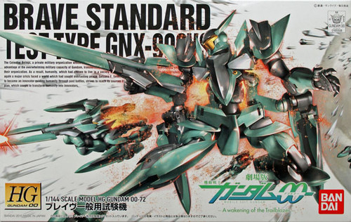 Bandai HG OO 72 Gundam BRAVE STANDARD TEST TYPE GNX-903VS 1/144 Scale Kit