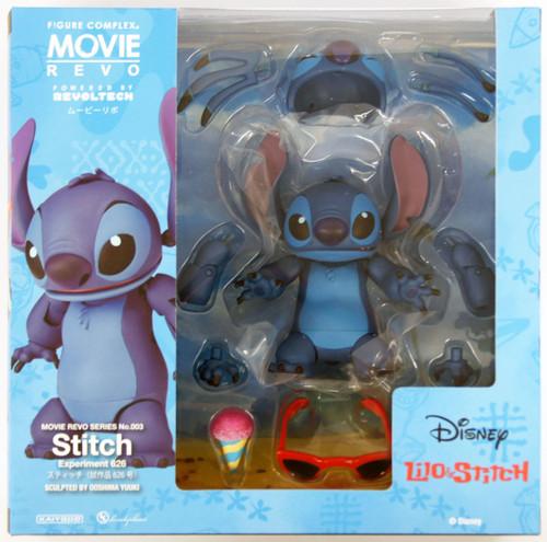 Kaiyodo Movie Revo (Revoltech) Series No. 003 Disney Stitch Figure