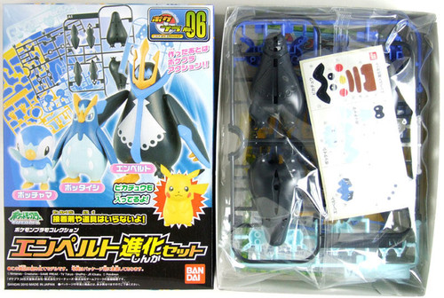 Bandai Pokemon Plamo 06 Empoleon Evolution Set (Plastic Model Kit)