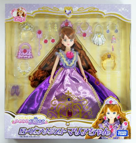 Takara Tomy Licca Doll Dreaming Princess Rose Amethyst Maria-chan (860570)