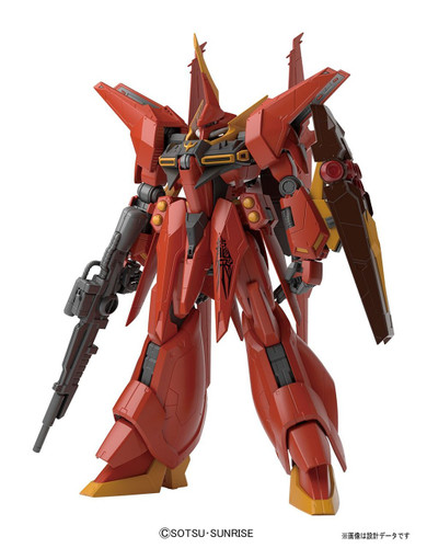 Bandai RE/100 105121 GUNDAM Neo-Zeon Attack Use Prototype Transformable Mobile Suit AMX 107 BAWOO 1/100 scale kit