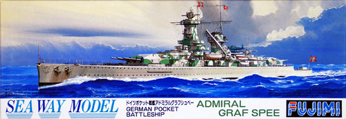 Fujimi SWM28 German BattleShip Admiral Graf Spee 1/700 Scale Kit
