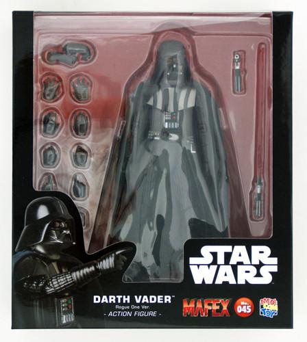 Medicom MAFEX 045 Darth Vader (Rouge One Version) Figure 4530956470450