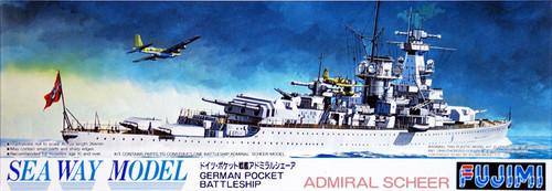 Fujimi SWM34 German BattleShip Admiral Scheer 1/700 Scale Kit