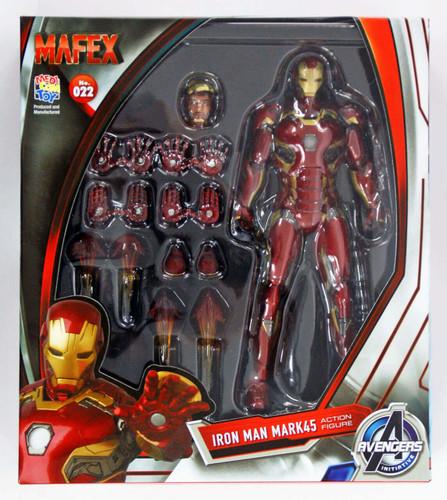 Medicom MAFEX 022 Iron Man Mark 45 Marvel Avengers Age of Ultron