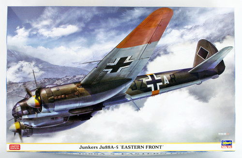 """Hasegawa 07446 Junkers Ju88A-5 """"Easterb Front"""" 1/48 scale kit"""