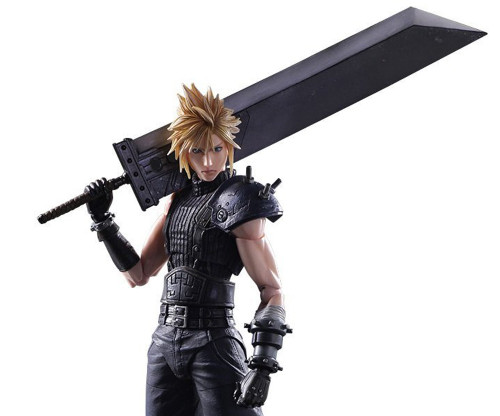 "Square Enix 327718 Final Fantasy VII Remake Play Arts KAI No. 1 ""Cloud Strife"" Action Figure"