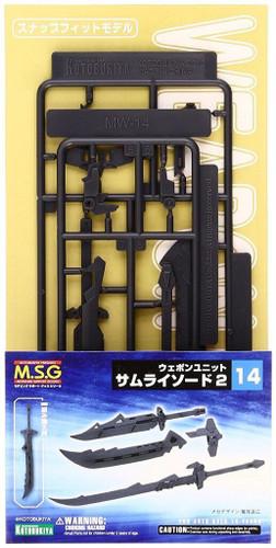 Kotobukiya MSG Modeling Support Goods MW14R Weapon Unit 14 Samurai Sword 2