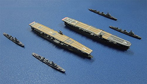 Fujimi Gunkan 02 401362 First Carrier Division Akagi Kaga・Fubuki Class Set 1/3000
