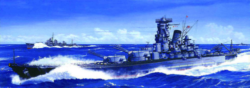Fujimi TOKU-6 IJN BattleShip Musashi Leyte Gulf 1/700 Scale Kit