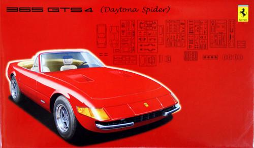 Fujimi EM39 Ferrari 365GTS4 Daytona Spider 1/24 Scale Kit