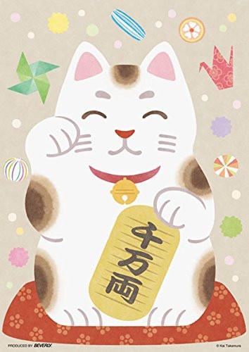 Beverly Jigsaw Puzzle 108-802 Lucky Beckoning Cat Maneki Neko (108 Pieces)