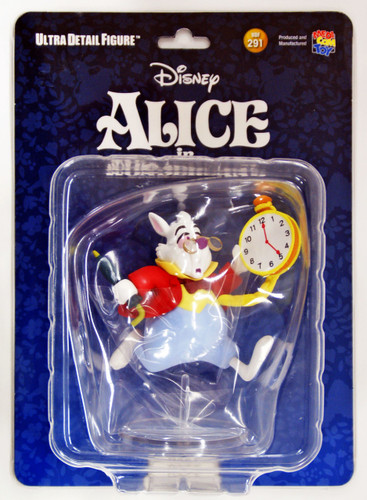 Medicom UDF-291 Ultra Detail Figure Alice in Wonderland White Rabbit Figure