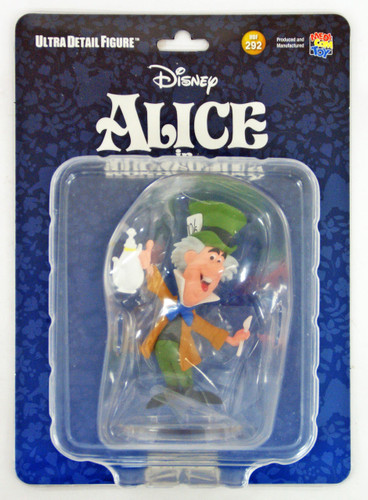 Medicom UDF-292 Ultra Detail Figure Alice in Wonderland Mad Hatter Figure