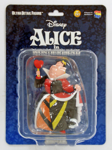 Medicom UDF-293 Ultra Detail Figure Alice in Wonderland Queen Of Hearts Figure