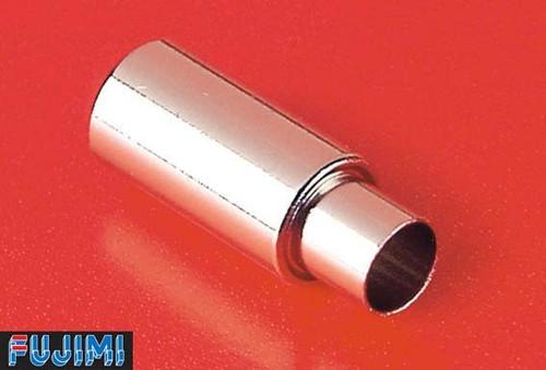 Fujimi Metal Muffler 2 Apex N1 Muffler 1/24 Scale