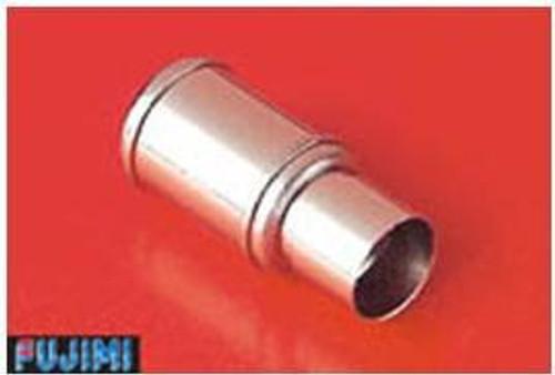 Fujimi Metal Muffler 3 Large Diameter Muffler 1/24 Scale