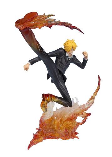 Bandai Figuarts Zero One Piece Sanji Diable Jambe Premier Hachis Figure