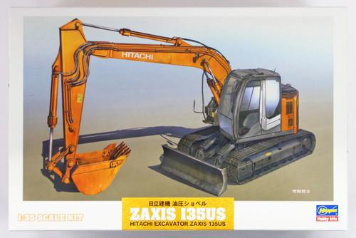 Hasegawa WM01 Hitachi Excavator ZAXIS 135US 1/35 Scale kit
