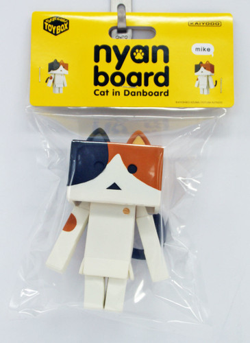 Kaiyodo Soft Vinyl Toy Box STB006A Nyanboard Mike Figure