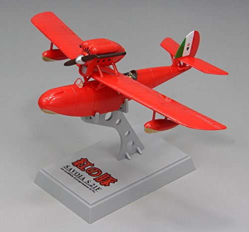 Fine Molds 62503 Savoia S.21F Seaplane Late Type PORCO ROSSO 1/72 Finished Model