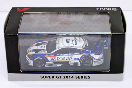 Ebbro 45065 KeePer TOM'S RC F SUPER GT500 2014 No.37 White 1/43 scale