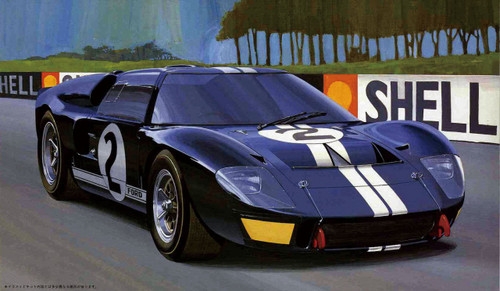 Fujimi HR1 Ford GT40 Mk-2 1/24 Scale Kit